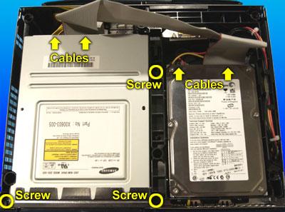 XBox Drive Screws